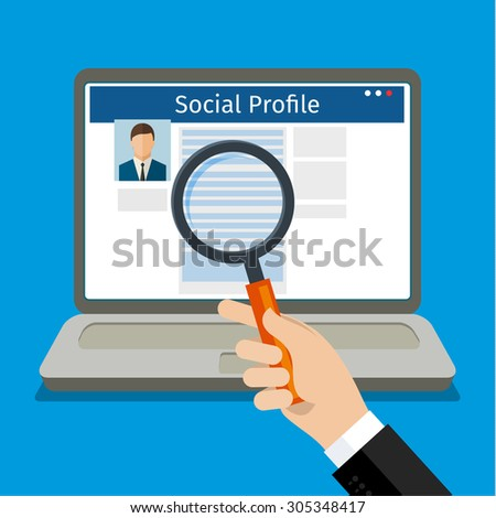 social networking profile