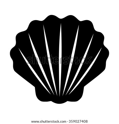 Clam Shell Silhouette Vector | www.pixshark.com - Images ...