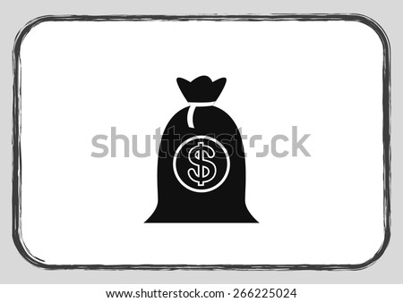 security money banking icon - stock vector