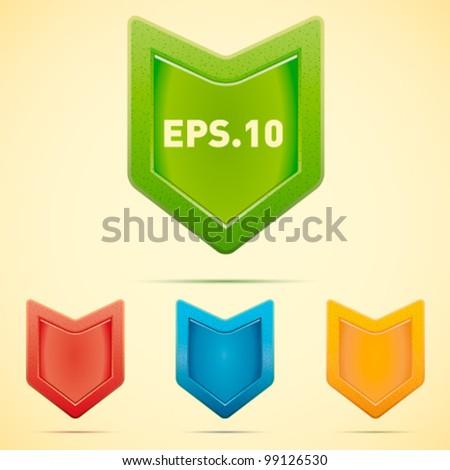 security shield symbol icon vector illustration - stock vector