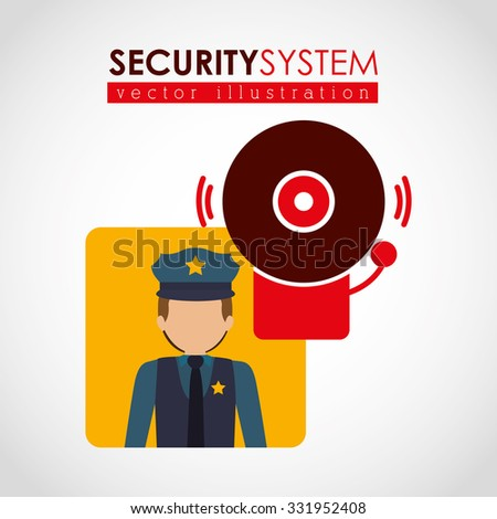 security systems design, vector illustration eps10 graphic