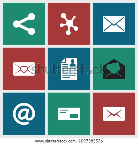 Send Icon Collection 9 Send Filled Stock Vector 1097385536 ...