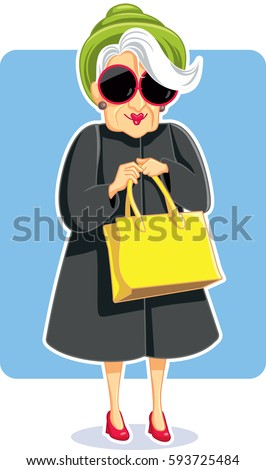 old woman with big glasses stock images royaltyfree
