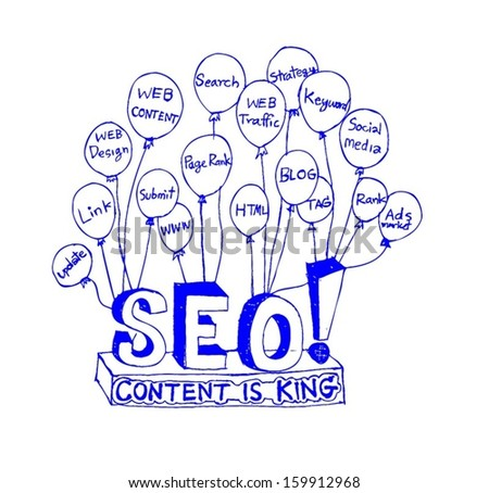 Seo Idea SEO Search Engine Optimization - stock vector