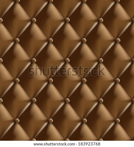 Sepia picture of Genuine leather upholstery