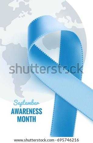 September Prostate Cancer Awareness Month Prostate Stock Vector Hd