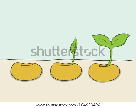 Seed Sprout Clipart
