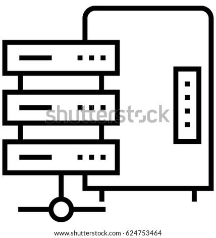 Cabinet Vector Icon Stock Vector 305096480 - Shutterstock