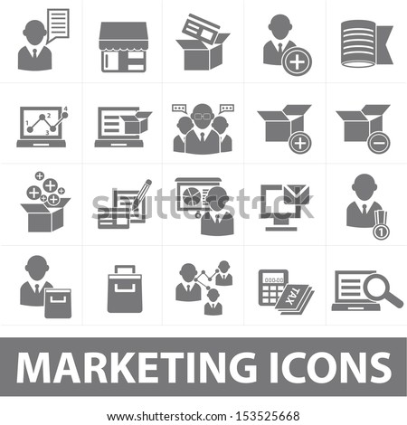 Service and Marketing icons,vector