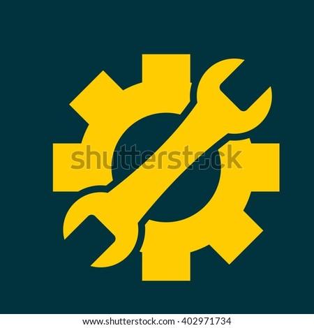 Service icon - stock vector