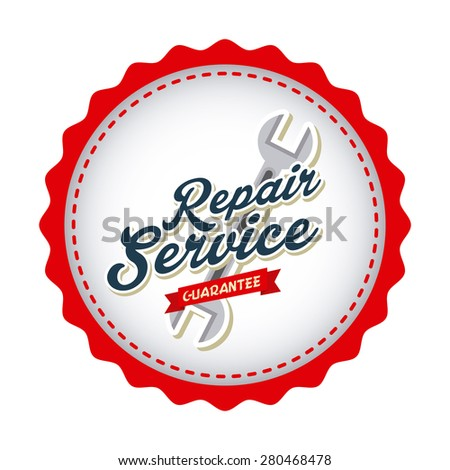 service station design, vector illustration eps10 graphic