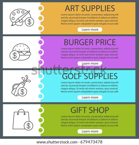 Golf Bag Clubs Flat Design Long Stock Vector 606855488 - Shutterstock