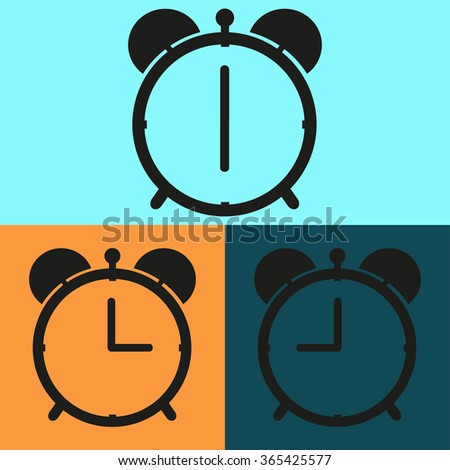Set alarm clocks with different  time