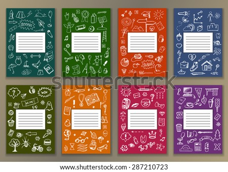 Notebook Cover Design Stock Images Royalty Free Images