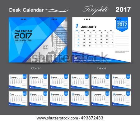 Desk Calendar Layout Stock Images, Royalty-Free Images & Vectors ...