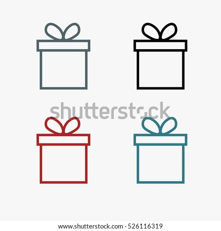 Set gift boxgift boxgift boxgift boxgift stock vector 526116319 set gift boxgift boxgift boxgift boxgift box negle Image collections