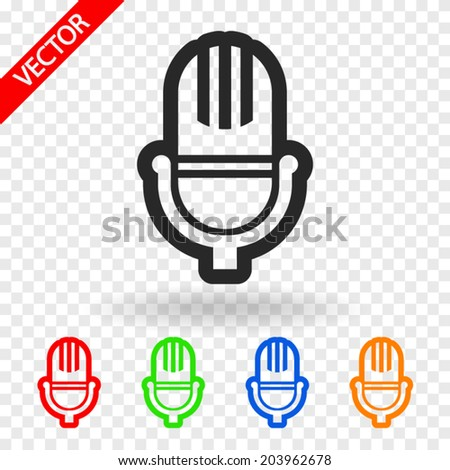Set icons, vector illustration. Flat design style  - stock vector