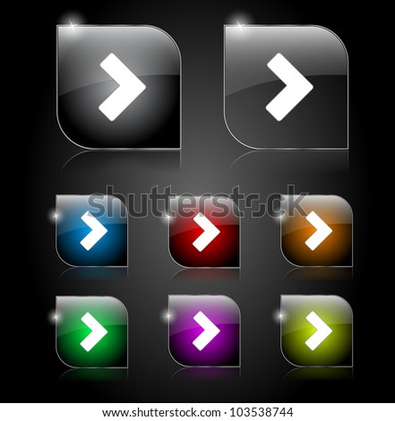 Set if buttons for web. Vector illustration. - stock vector