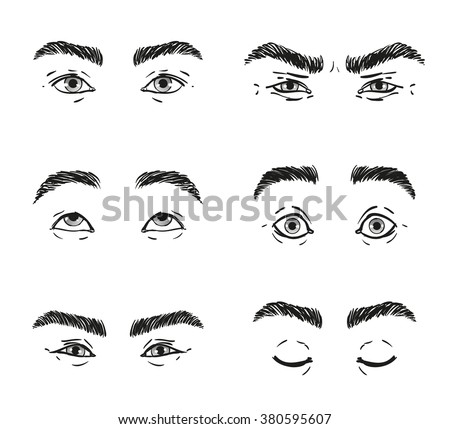 how to draw eyes illustration