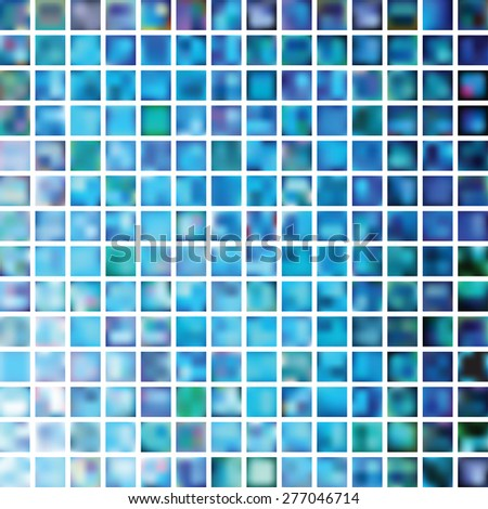 Set of abstract blurred colorful backgrounds. Vector