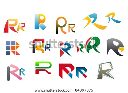 Type R Logo Vector Of letter r, such a logo.