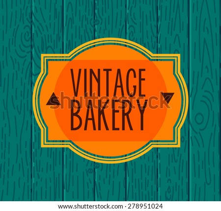 Set of bakery logos, labels, badges and design Elements. Fresh bread, cakes, pies. The trendy contemporary style - stock vector