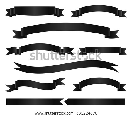 Black Ribbon Stock Images, Royalty-Free Images & Vectors ...