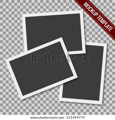 Photo Collage Template Stock Images RoyaltyFree Images  Vectors