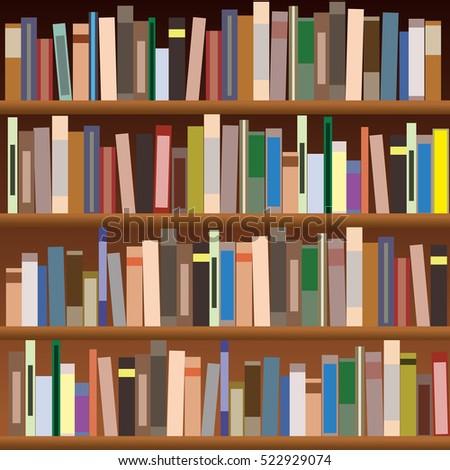 Bookshelf Stock Images Royalty Free Images Amp Vectors Shutterstock