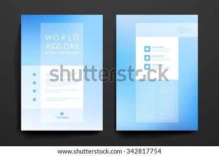 Broshure stock photos royalty free images vectors for Hiv aids brochure templates