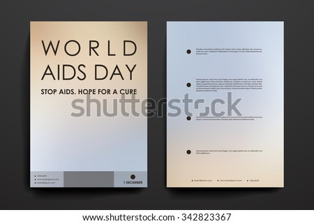 Aids virus stock images royalty free images vectors for Hiv aids brochure templates
