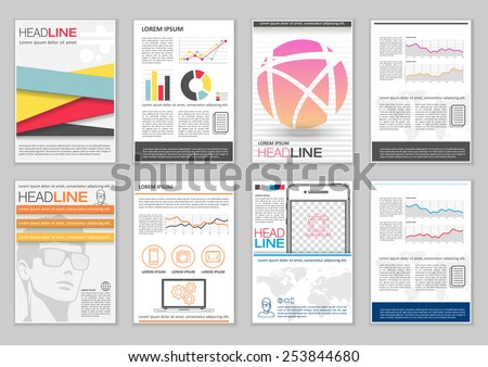Pamphlet Template Stock Images, Royalty-Free Images & Vectors ...