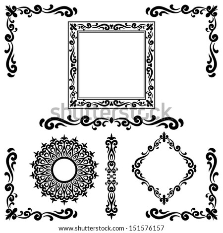 Whitetail Buck Antlers likewise Corner design furthermore Fancy Cross Clip Art also Flower Pattern 2699235 likewise Cross Heart Tattoos. on wood burning patterns for free