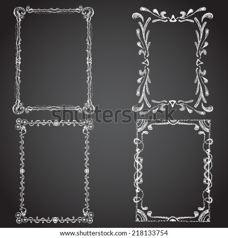 Chalk Frame Stock Images Royalty Free Images Amp Vectors
