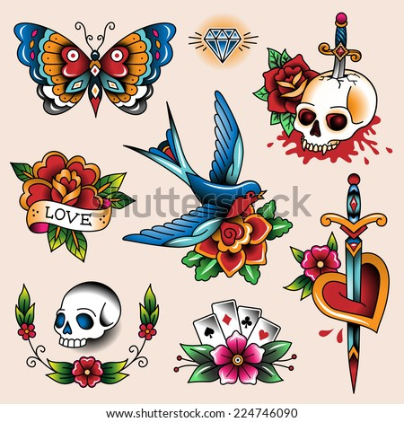 tattoo stock images royalty free images vectors shutterstock. Black Bedroom Furniture Sets. Home Design Ideas