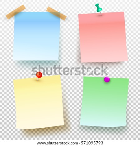 Green Sticky Note Isolated Images RoyaltyFree Images – Sticky Note Template
