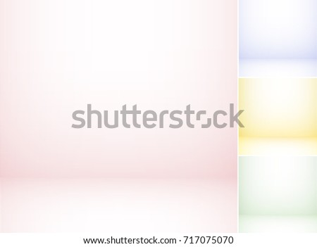 Set of colorful studio backgrounds.