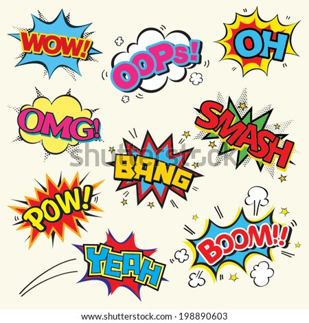 Pop Art Comic Stock Images, Royalty-Free Images & Vectors ...