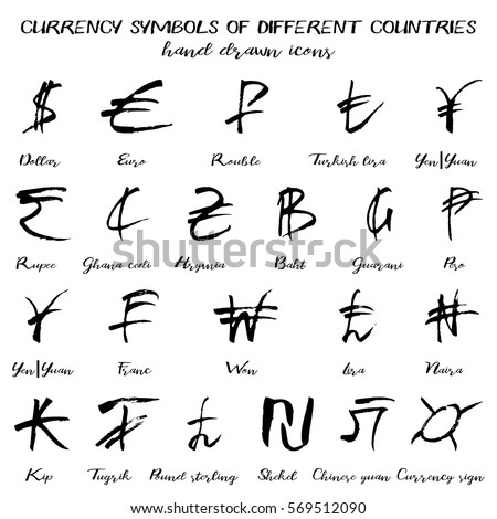 Different Currency Symbols Of Different Countries Images Free