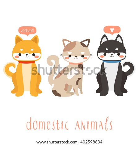 essay on uses of domestic animals My father is fond of domestic animals we have in our house a horse, a cow and a dog we treat them with care and affection they are properly fed, comfortably housed.