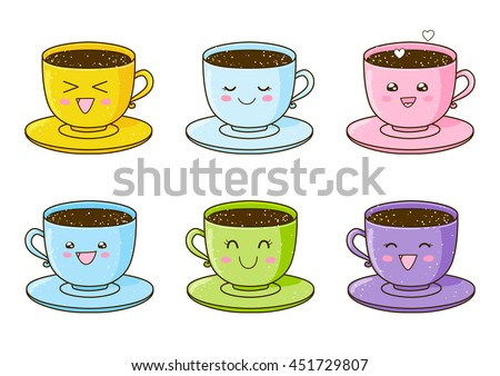 Cute Coffee Stock Images Royalty Free Images Vectors