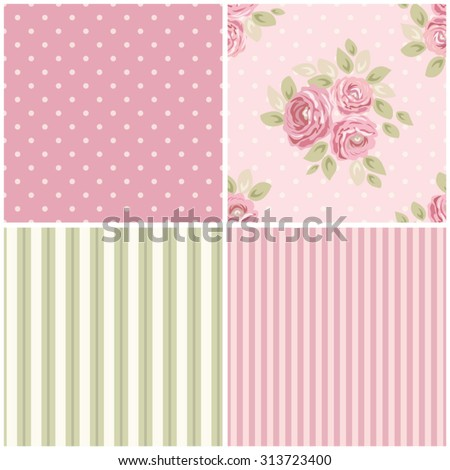 ... design, can be used for scrap booking paper etc - stock vector