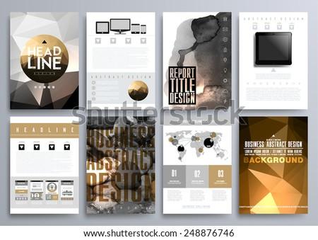 templates of brochures