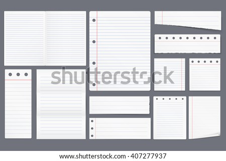 Lined Paper Images RoyaltyFree Images Vectors – Lined Blank Paper