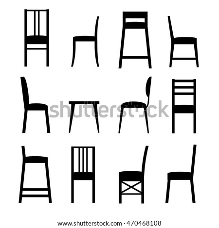 Chair Silhouette Stock Images Royalty Free Images