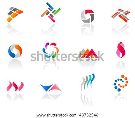 Set of different icons (part 5). Please see more in my portfolio.