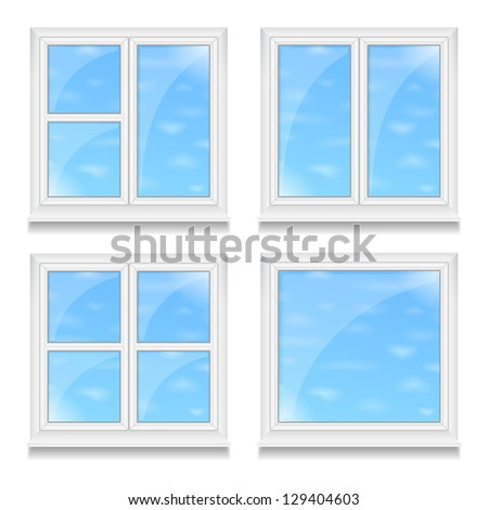 Window frame stock images royalty free images vectors for Exterior design templates
