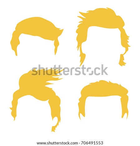 how to draw donald trumps hair