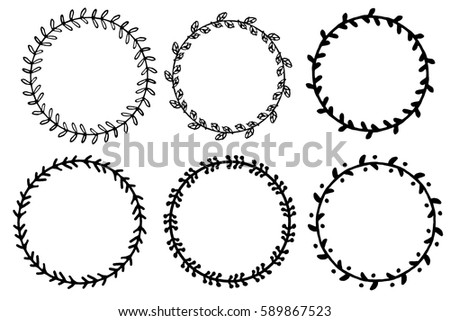 Black Border also Mandalas additionally Ornament Vector Elements 23086 furthermore Set Doodle Floral Leaf Circle Framesillustration 589867523 further Celtic Knotwork Design. on vintage circle pattern