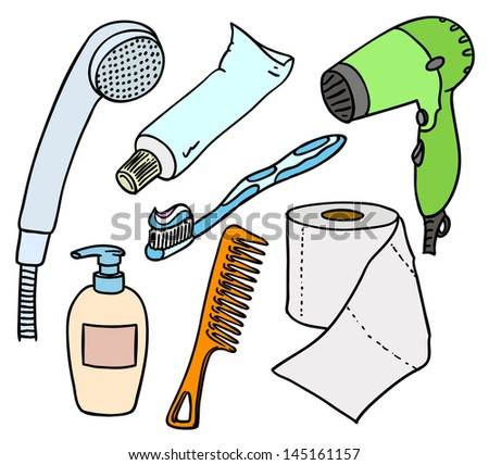 Bathroom Equipment Stock Images Royalty Free Images Vectors